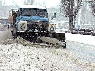 Снегоуборочная техника не справляется с объемом работ