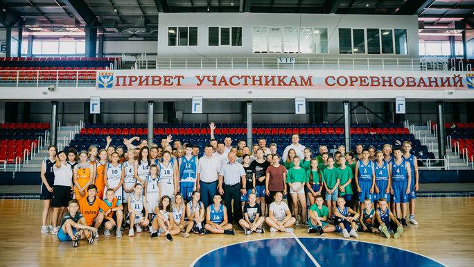 В Нововоронеже 78 детей из атомных городов тренировались в летнем баскетбольном лагере