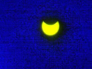 Солнечное затмение ажиотажа в Воронеже не вызвало