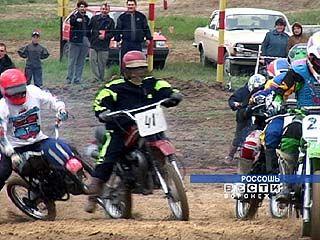 Соревнования по мотоспорту прошли в Россоши