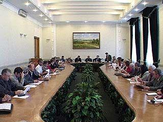 Состоялось очередное заседание общественной палаты