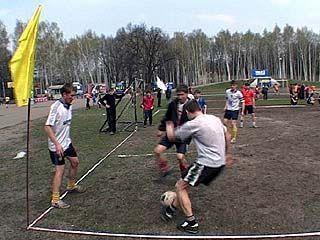 Состоялся отборочный тур футбольного турнира дворовых команд
