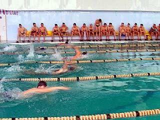 Сотрудники ФСБ провели традиционные соревнования по плаванию