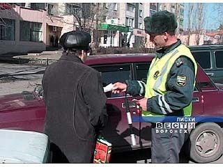 Сотрудники ГИБДД Лисок взялись за пешеходов