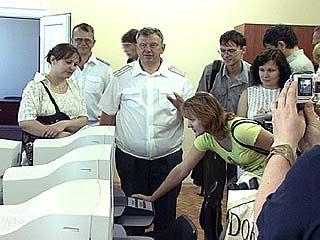 Сотрудники ГИБДД отмечают 70-летие службы