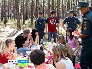 Сотрудники МЧС начали наказывать рублем любителей барбекю на природе