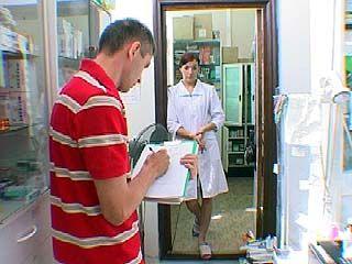 Сотрудники милиции проверили аптеки Воронежа