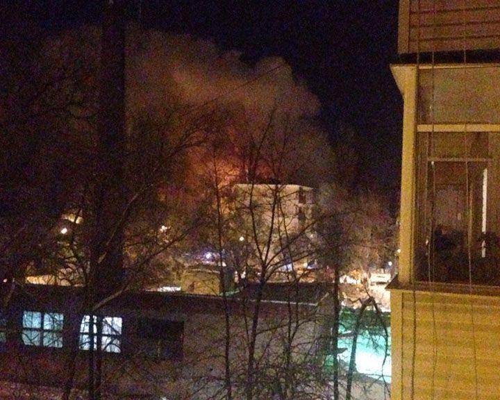 СРОЧНО: В Воронеже в жилом доме произошёл мощнейший взрыв газа