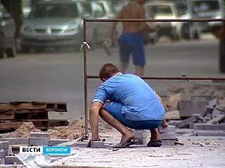 Сроки сдачи дорог в историческом центре Воронежа снова отложены