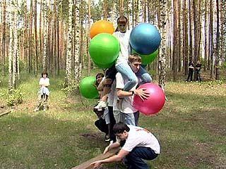 """Стартовал открытый чемпионат по веревочным курсам """"Команда года"""""""