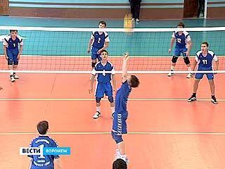 Стартовал полуфинал первенства России по волейболу среди команд мальчиков
