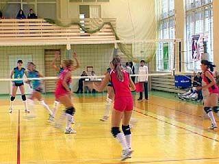 Стартовал пятый тур первенства России по волейболу среди женских команд