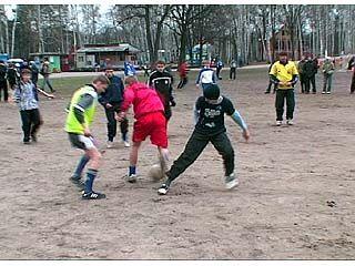 Стартовал турнир по футболу среди дворовых команд