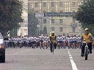 Стартует легкоатлетический пробег