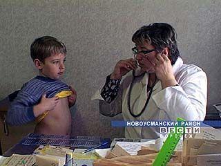 Столичные медики побывали в Новоусманском районе