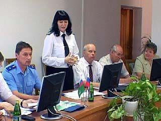 Судебные приставы представили отчет о проделанной работе