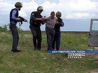 Тактико-специальные учения прошли в Кантемировском районе
