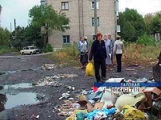 Таловая утопает в мусоре, который не вывозится уже месяц