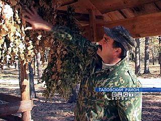 Таловские егеря заканчивают заготовку на зиму кормов для диких животных