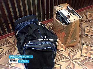 Тамбовские милиционеры задержали воронежского квартирного вора