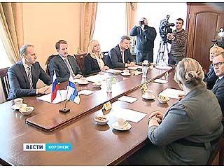 Торговые отношения между Воронежской областью и Финляндией будут развиваться