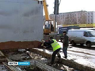 Торговые ряды на Димитрова демонтировали