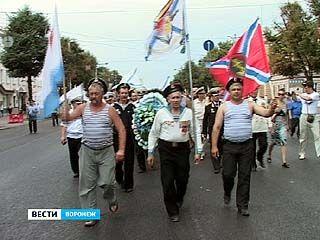 Традиционное шествие на День ВМФ собрало всего 200 участников