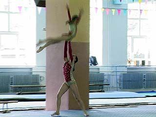 Третий день состязаний областного первенства по спортивной акробатике