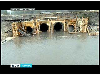 Целый квартал в микрорайоне Подгорное может оказаться под сточной водой