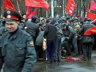 Центральная часть Воронежа чуть не превратилась в баррикады