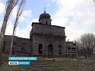 Церковь, построенную без единого гвоздя, в Новоусманском районе будут восстанавливать