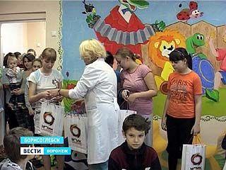 У маленьких пациентов районной больницы Борисоглебска появилась игровая комната