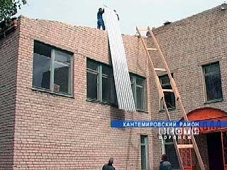 У Новомарковской школы будет новая крыша