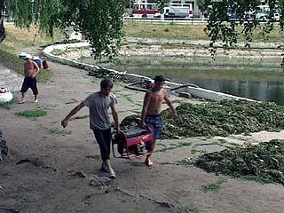 У озера на Минской - новые арендаторы