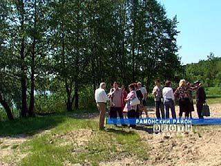 У села Чертовицы Рамонского района прошел стихийный митинг