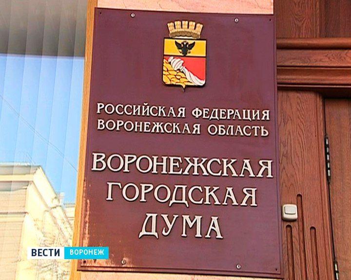 Депутаты городской Думы: Безынициативность воронежцев – одна из причин отменить выборы мэра
