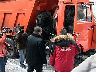 Уборочные машины в Воронеже оснащены GPS навигацией