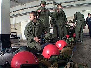 Учения спасателей прошли в помещении ГУВД