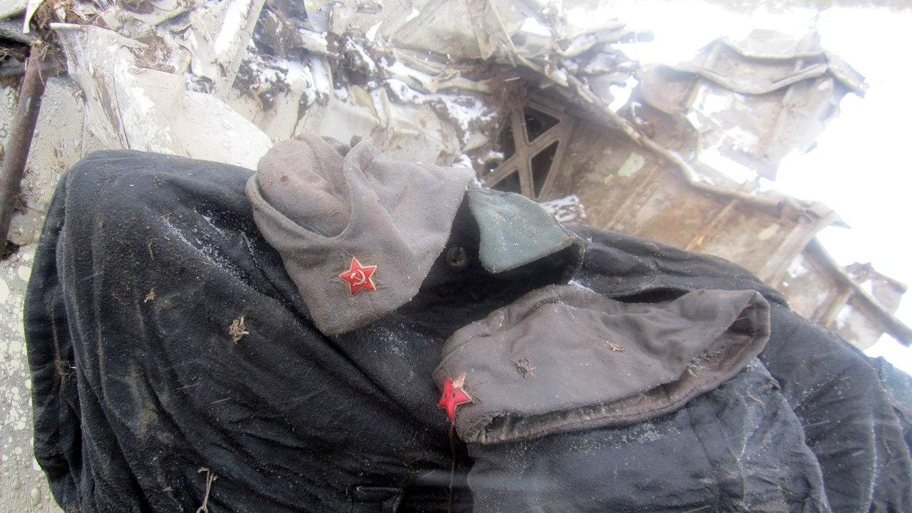 В Новгородской области нашли останки погибшего в войну уроженца Воронежской области