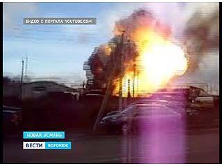 Уголовное дело, по факту взрыва на АТП в Новоусманском районе возбуждено