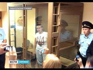 Украинскую лётчицу не отпустили под залог. Она проведёт в СИЗО ещё два месяца