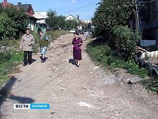 Улица в центре Воронежа до сих пор остаётся без асфальтированной дороги