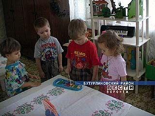 Уникальное дошкольное учреждение работает в Бутурлиновском районе