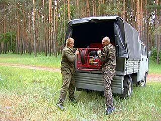 Управление лесного хозяйства области обновляет техническую базу