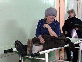Увеличилось количество травм, связанных с гололедом