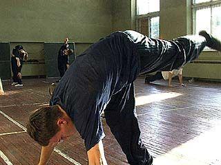 В академии искусств прошел мастер-класс по сценическому движению