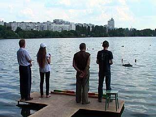 В акватории Воронежского водохранилища появился целый флот