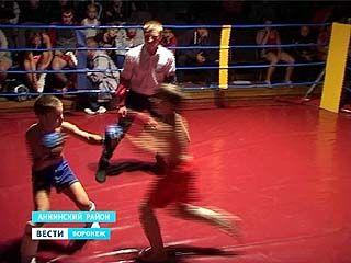 В Аннинском районе провели областной чемпионат по рукопашному бою