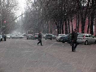 В апреле в Воронеж вернулась зима