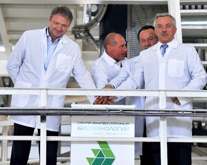 В Белгородской области  состоялось открытие завода по производству лизина